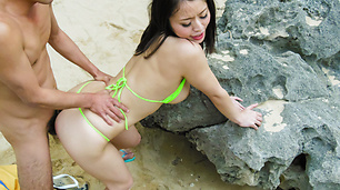 Super intense Japanese outdoor sex with Kaede Niiyama