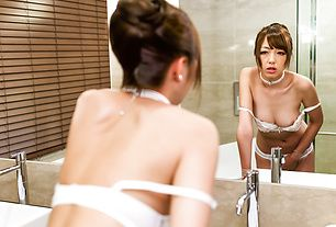 Teen Anri Strips Down And Plays With Her Pussy