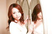 Sexy MILF Kanako Tsuchiyo Takes A Facial After A BJ Photo 1